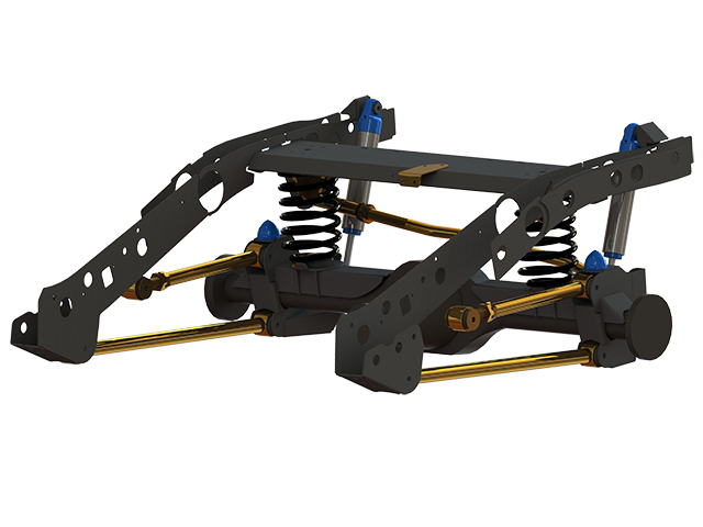 Superior Rear Weld In Coil Conversion Kit Ford PXII Ranger/Mazda BT-50 (VSC Models) front view