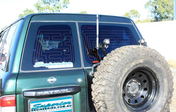 Superior Wheel Carrier Nissan Patrol