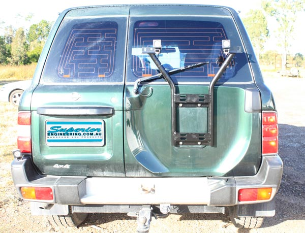 Superior Wheel Carrier Suitable For Nissan Patrol GQ (With
