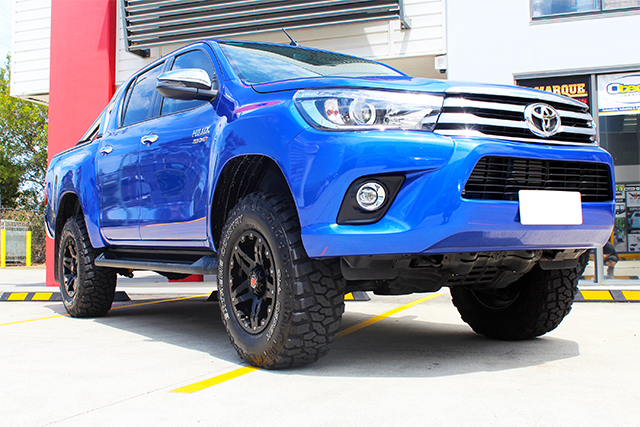 SUPERIOR OUTBACK EXPLORER AUSTRALIA WIDE LEGAL 2.5 4 INCH LIFT, 33 INCH TYRES, 3.56T GVM SUITABLE FOR TOYOTA HILUX REVO 2015 ON Power Curve Performance