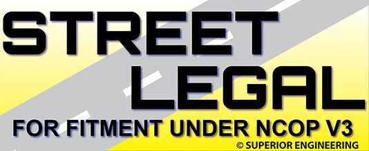 Street Legal and Compliant Logo