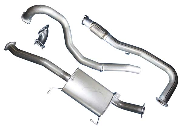 Superior Exhaust System 3 Inch Suitable For Nissan Patrol Gu Wagon42lt 6 Cyl Turbo Diesel: Patrol Exhaust Systems At Woreks.co