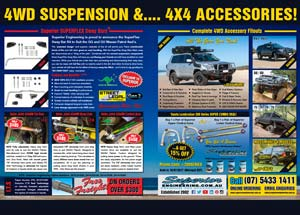 4WD Suspension & Accessories Magazine Ad Thumbnail
