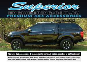 4x4 Accessories and Suspension Specialists Magazine Ad