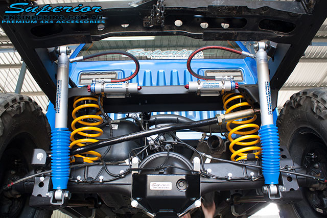 Ford PXII Ranger Coil Conversion | Superior Engineering