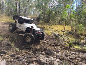 Brett Thorpe running the Ultra4 Buggy at round 2 of Aust4 Racing Series 2017