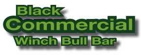 Black Commercial Bullbar Logo