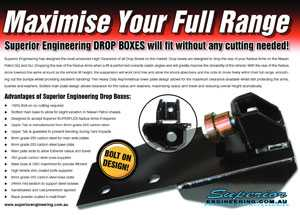 Superior Engineering Drop Boxes - Maximise Your Full Range