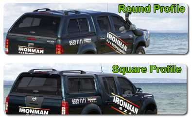 Turn the back of your ute into a safe lockable dry space with an Ironman Thermo-Plas Canopy. & Ironman 4x4 Ute Canopy - Toyota Hilux 2005-15 (With External Hooks ...