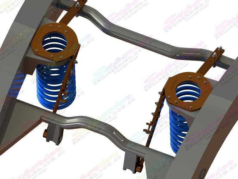 Coil tower brace for Nissan Patrol wagons
