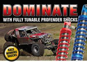 Dominate With Profender Shocks Magazine Ad