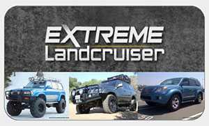 Extreme Landcruiser 4x4 Accessories Logo