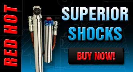 Superior Adjustable Monotube Remote Reservoir Shock