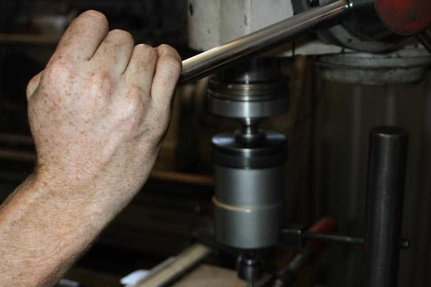 Operating A Drill Press