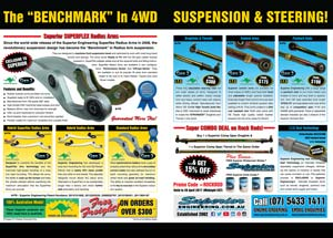 The Benchmark In 4WD Suspension Magazine Ad Thumbnail