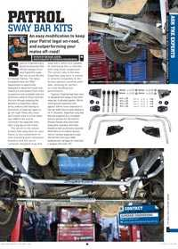 Download the Article about Patrol Sway Bar Kits