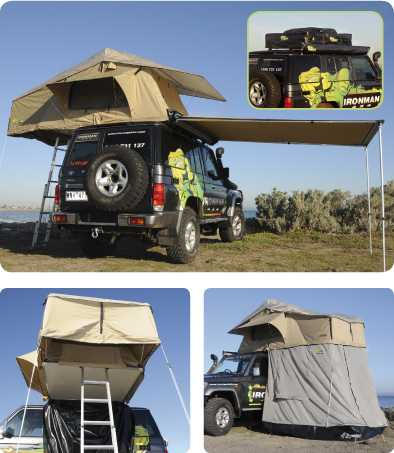 Ironman 4x4 roof top tent & Ironman 4x4 Rooftop Tent (only) | Superior Engineering