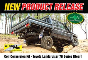 Coil Conversion Kit - Toyota Landcruiser 79 Series [Rear] (2016-2017 Model)