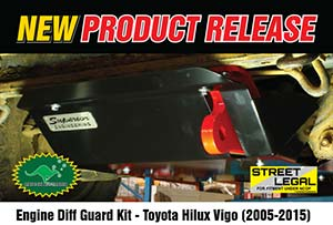 Engine Diff Guard - Toyota Hilux Vigo