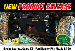 Engine Gearbox Guard - Ford Ranger PXI/PXII and Mazda BT-50