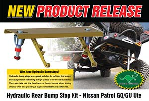Hydraulic Rear Bump Stop Kit - Nissan Patrol GQ/GU Ute
