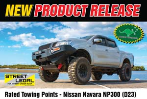 Rated Towing Point Nissan Navara NP300
