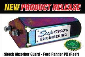 Shock Absorber Guard - Ford Ranger PX (Rear)