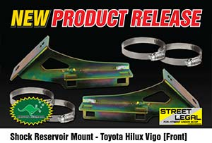 Remote Reservoir Shock Mounts - Toyota Hilux Vigo (REAR)
