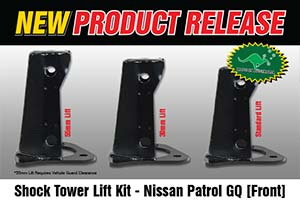 Shock Tower Lift Kit - Nissan Patrol GQ [Front]