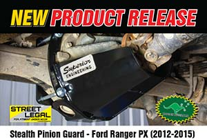 Stealth Pinion Guard - Ford Ranger PX