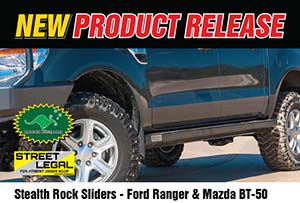 Stealth Rock Sliders - Ford Ranger PXI/PXII & Mazda BT-50 (Series 2)