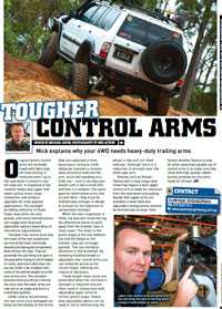 Download the article about why your 4X4 needs heavy-duty trailing arms. PDF format. 307 kilobytes in file size.