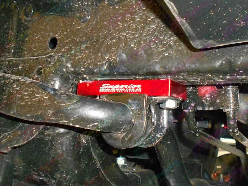 Sway Bar Relocation Plates