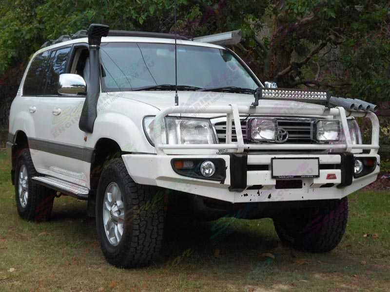 Toyota Landcruiser 100 Series Fitted With A 2 Inch Bilstein Lift Kit